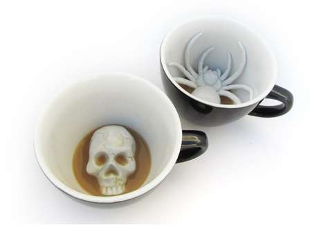Cool Find: Sinister Halloween Mugs / Halloween Culture | Its not just a Holiday, its a way of life…