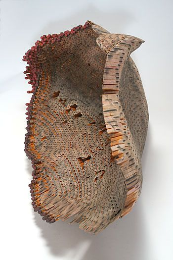 **Jessica Drenk, made from pencils and glue