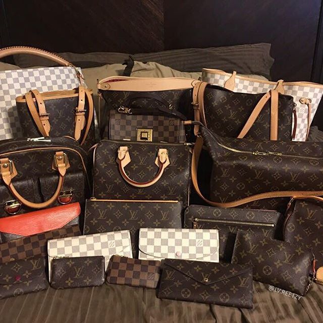 Can we ever have enough of Louis Vuitton? [Louis Vuitton Collection 154] Owner: Norlie Koziczkowski (group member) . ----------------------- Follow us to get your daily dose of Louis Vuitton!