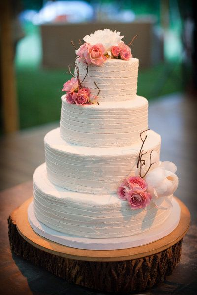 simple!: Pink Flowers, Fall Flowers, Cakes Ideas, Simple Cakes, Events Planners, Wedding Cakes, Cakes Design, Cakes Stands, Simple Wedding