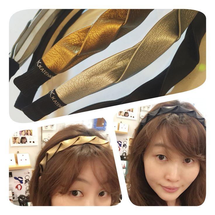 #katenkelly #hairband #fashion jewelry #KOREA made in KOREA  katenkelly.com