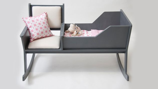 Rockid : A Cradle and Rocking Chair in One - http://www.house-decoratingideas.com/rockid-a-cradle-and-rocking-chair-in-one