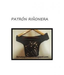 patrón riñonera