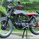 kumpulan gambar modifikasi honda win jadi trai 100cc dengan kombinasi jap style terbaru layaknya motor cb yang performanya tangguh seperti supermoto