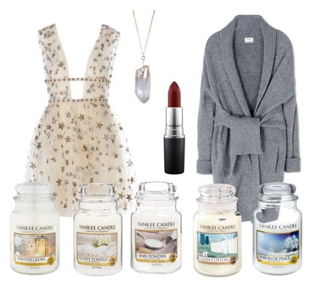 Season of peace by motetta on Polyvore featuring Acne Studios, Humble Chic, MAC Cosmetics and Yankee Candle
