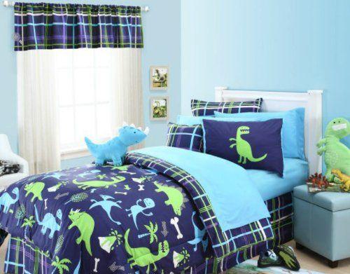 Dinosaurs Twin Comforter Sham Amp Toss Pillow 3 Piece