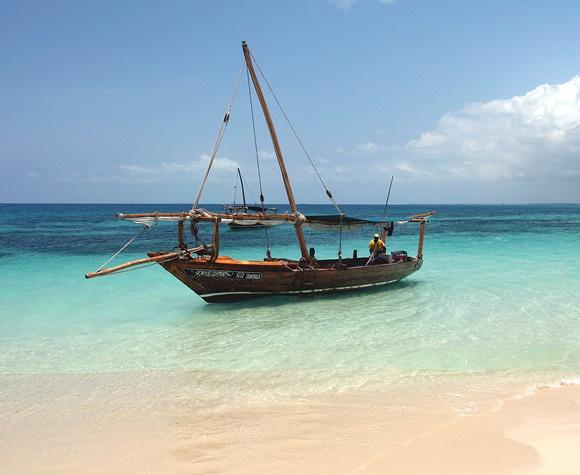 Indian ocean + dhow
