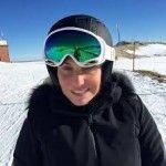 Antonella Clerici vacanze sulla neve al bacio-Il mio articolo su Gente Vip Gossip News