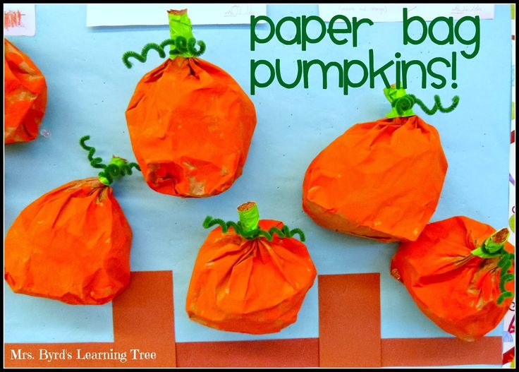 Pumpkin Activities Paper Bag Painted Pumpkins This Has Been Around For A Long Time CraftsPumpkin IdeasFall