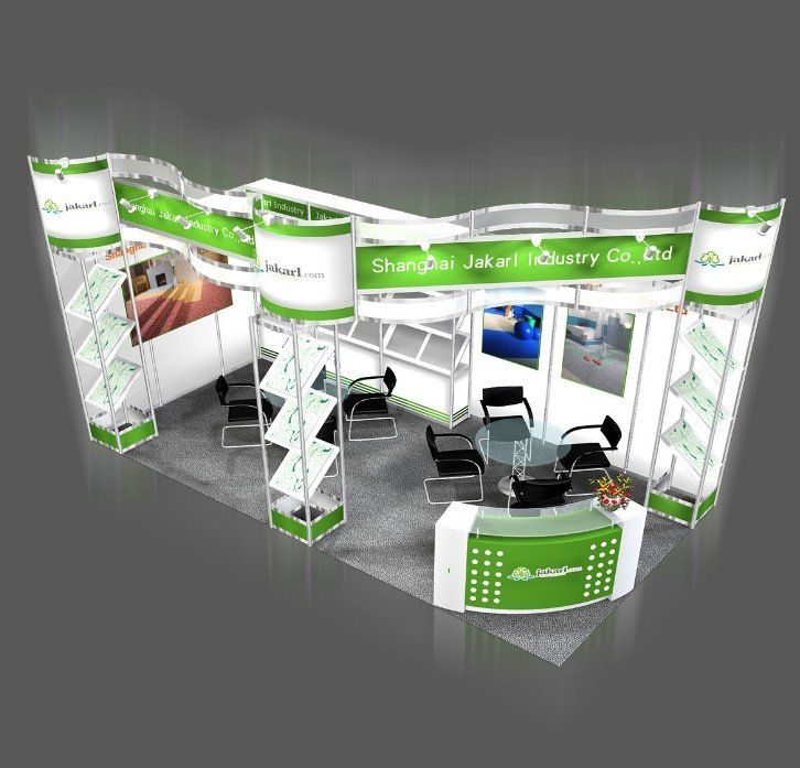Exhibition Stand Build Up : Easy build up and assemble aluminum exhibition booth view