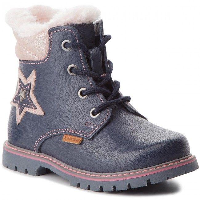 Kozaki Lasocki Kids Ci12 Miki 15 Cobalt Blue Boots Blue Hiking Boots