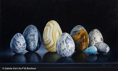 Mickie Acierno, 'Pilgrimage', 16'' x 26'' | Galerie d'art - Au P'tit Bonheur - Art Gallery