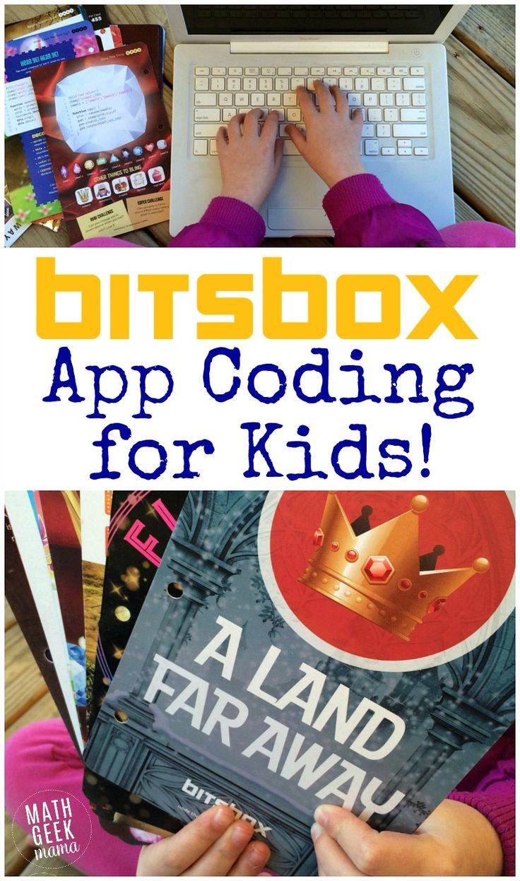 Looking for a fun and engaging way to teach app coding for beginners? Bitsbox is a kid-friendly and innovative option that will teach computer programming basics, while challenging kids in a fun way. http://mathgeekmama.com/app-coding-beginners/?utm_campaign=coschedule&utm_source=pinterest&utm_medium=Bethany%20%7C%20Math%20Geek%20Mama&utm_content=Bitsbox%3A%20App%20Coding%20for%20Beginners