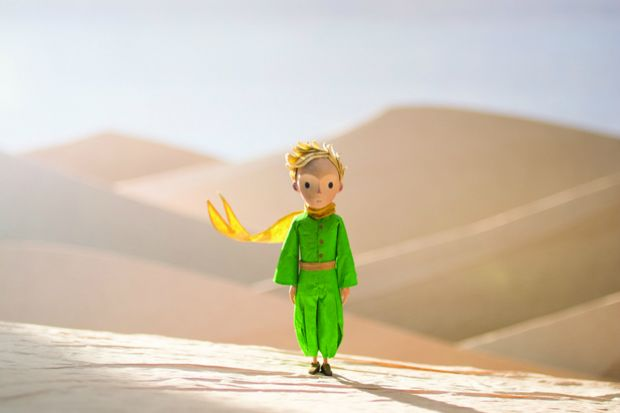 La critique du film d'animation Le petit prince