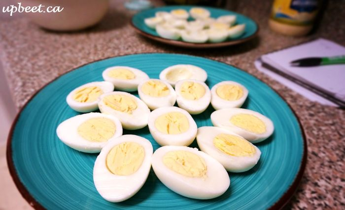 Creepy-Crawly Truffled Deviled Eggs