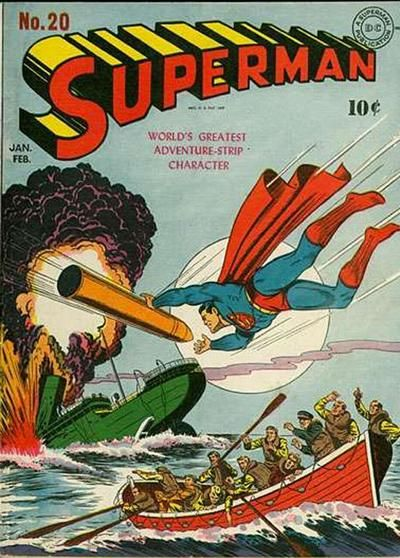 How much is Superman #20 worth? Find the graded and raw value of this comic book in our online comics price guide.