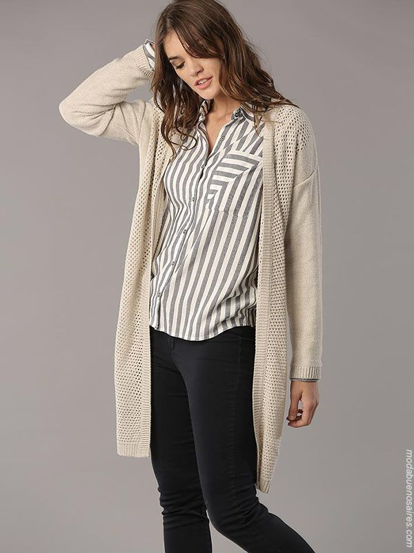 67539b97672db Sacos de moda otoño invierno 2018. Moda invierno 2018 sacos de mujer.