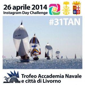 Instagram Day Challenge al 31° Trofeo velico dell'Accademia Navale di Livorno