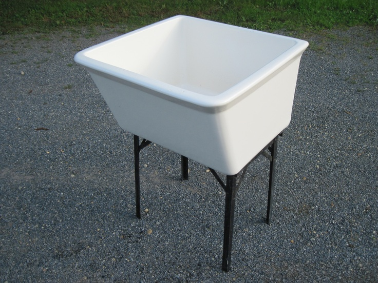 Laundry Antique Vintage Fords Porcelain Utility Sink