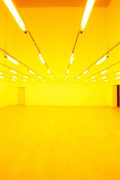 Yellow Room by Olafur Eliasson