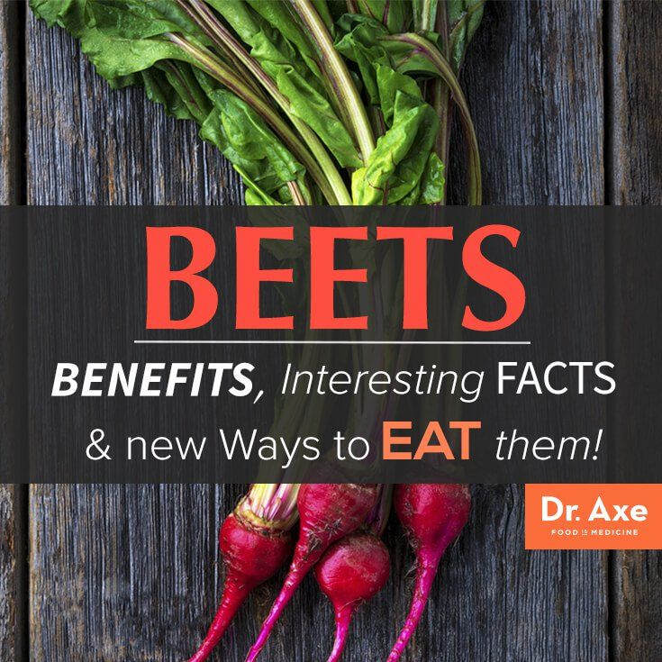 Beet Health Benefits and Facts Title