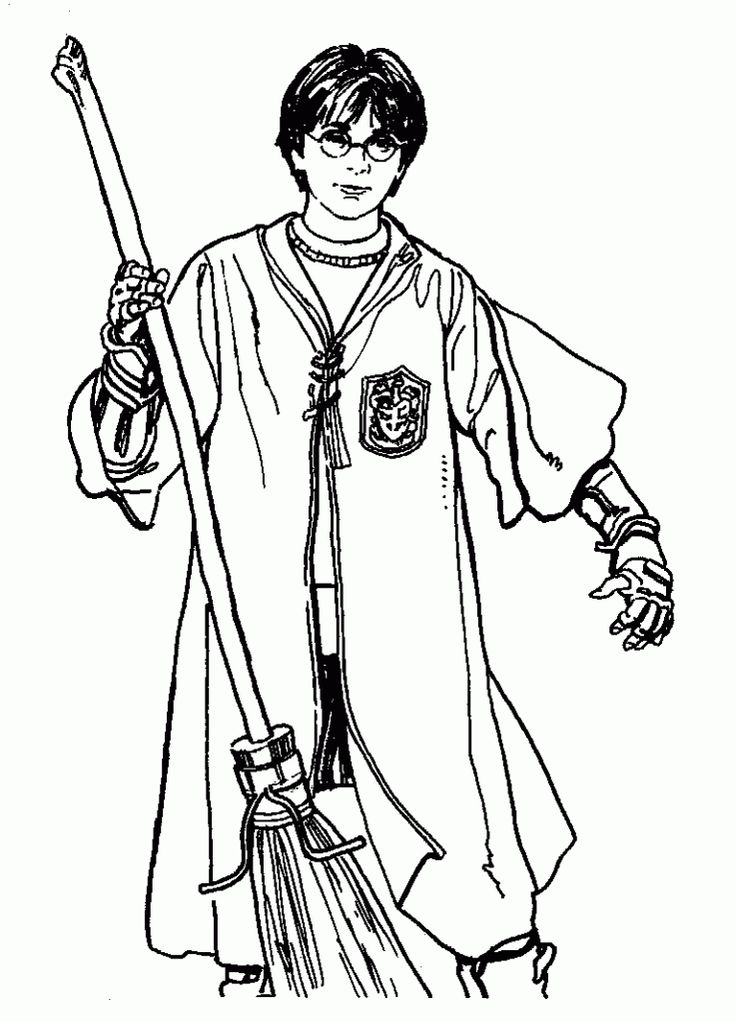 Best 30 Printable Harry Potter Coloring Pages