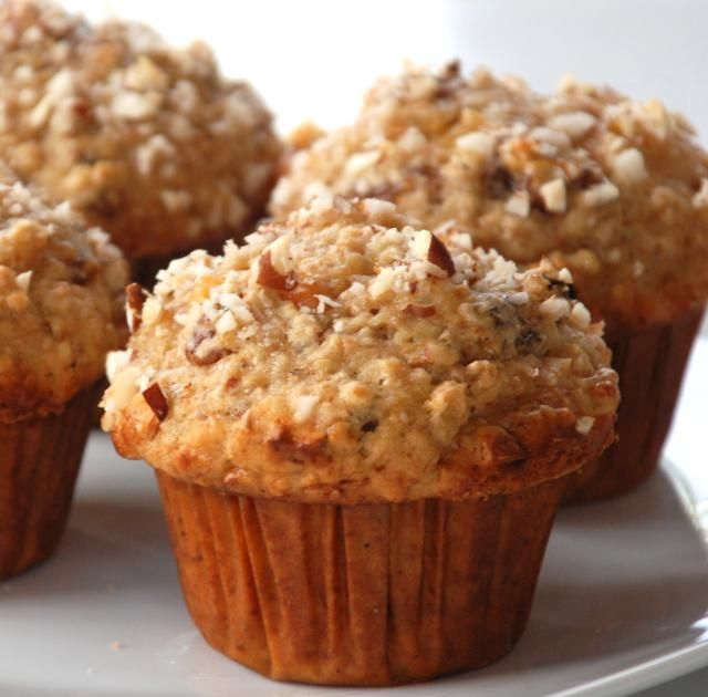 Tropical Muffins with Pineapple and Coconut: Tropical Breakfast Muffins