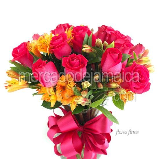 Floreria en el df Rosas Fucsia Cherry !| Envia Flores