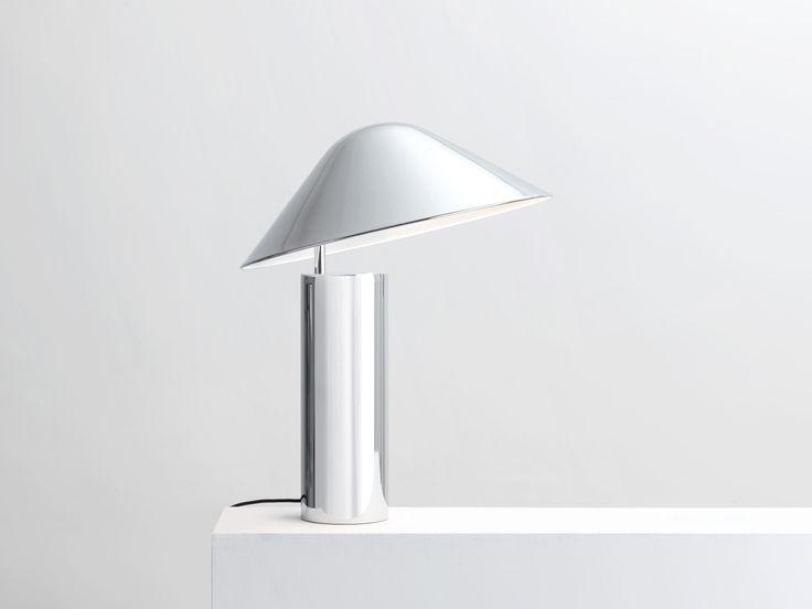 Damo Simple Table Lamp   Chrome
