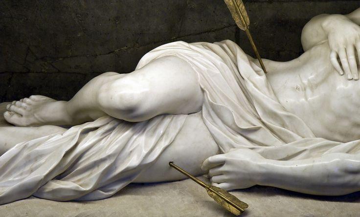 Saint Sebastian - Giuseppe Giorgetti, c. 1671