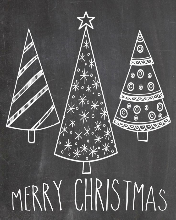 Chalkboard Merry Christmas   Google Search More
