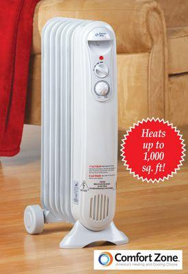 Comfort Zone Slimline Radiator Heater