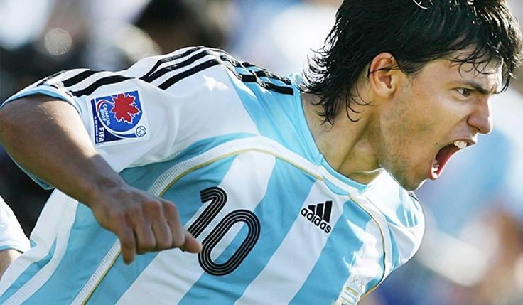 Sergio Kun Aguero, forward, Argentina & Manchester City