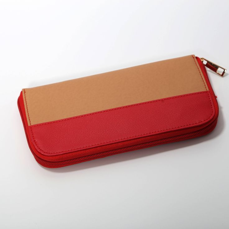 Excited to share the latest addition to my #etsy shop: Faux Leather Purse, Slim Wallet Women, Coin Wallet, Ladies Vegan Wallet, Card Wallet Women, Zipper Wallet, Fabric Wallet Women http://etsy.me/2mNZDtT #accessories #wallet #mothersday #red #fauxleatherpurse #slimwal