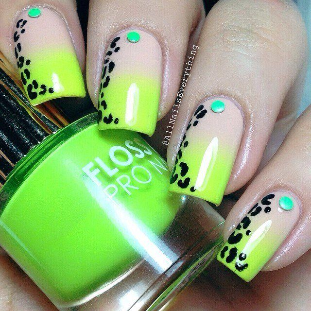 26 best Leopard nails images on Pinterest | Uñas de leopardo ...