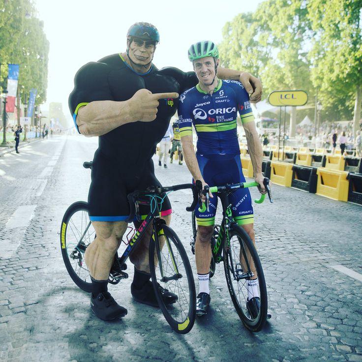 Paris Roubaix Winner Mat Hayman Gets Some Post Tour