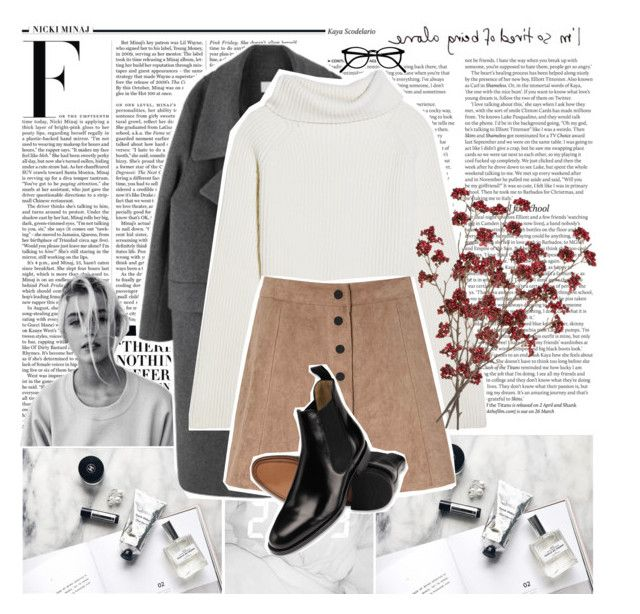 """""""i'm so tired of being alone"""" by hunter995 ❤ liked on Polyvore featuring ASOS, Nicki Minaj, Haider Ackermann and Glamorous"""