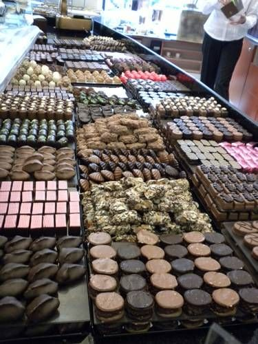 Belgian chocolate, make sure you buy some for friends and relatives.