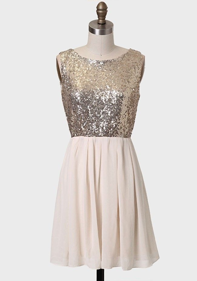 Belle Of The Ball Sequined Dress