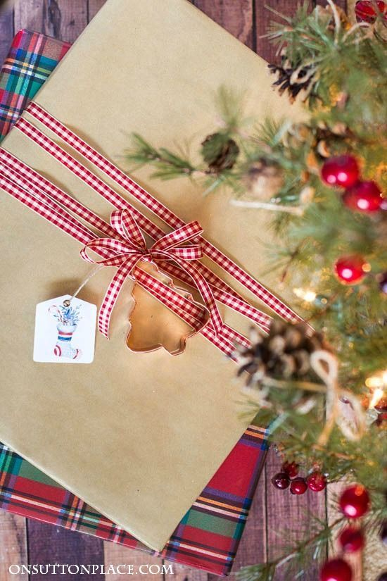 Easy Christmas Gift Wrap Ideas HOLIDAYS Christmas Gift Giving
