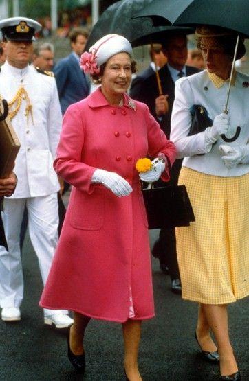 : Pink Hardy, Diamonds Jubil, Bright Pink, Amy Coats, British Royalty, Hardy Amy, Queen Elizabeth Pink R, Elizabeth Ii, Candid Royalty