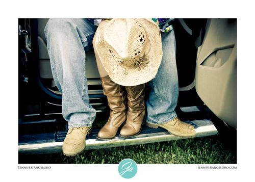 "Country Couple Photography Ideas Trucks | An Adorable ""Country Couple"" at Lakes Park, Fort Myers » Jennifer ..."