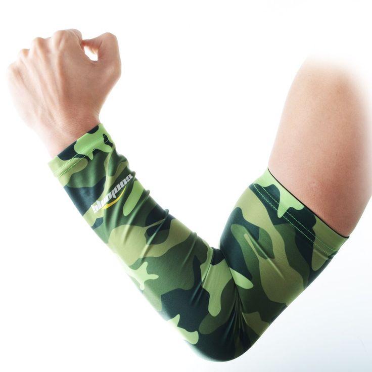 COOLOMG 1 Stück Hautfreundlich Anti-Rutsch Anti-UV Radsport Arm sleeves Armschoner Erwachsene Kinder XXS-XL: Amazon.de: Sport & Freizeit