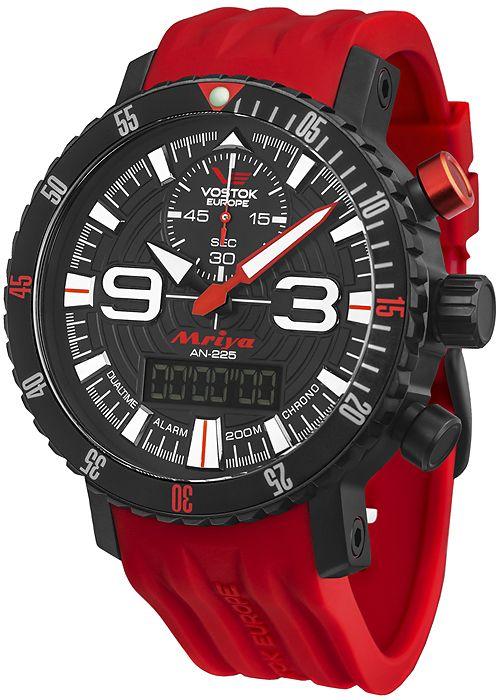 Zegarek męski Vostok Europe Mriya 9516-5554250 - sklep internetowy www.zegarek.net