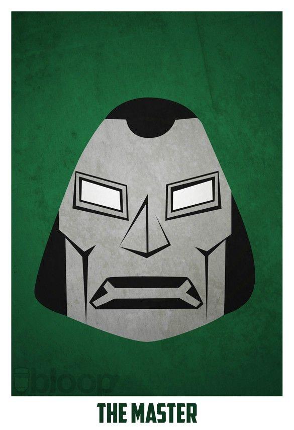 Dr Doom By Bloop