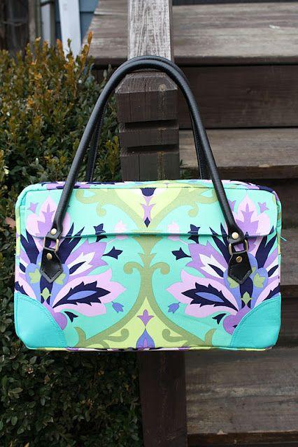 tutorial-urban-jungle-bag: Bags Tutorials, Urban Jungles, Diy Bags, Bags Patterns, Free Patterns, Jungles Bags, Sewing Sweet, Sewing Patterns, While