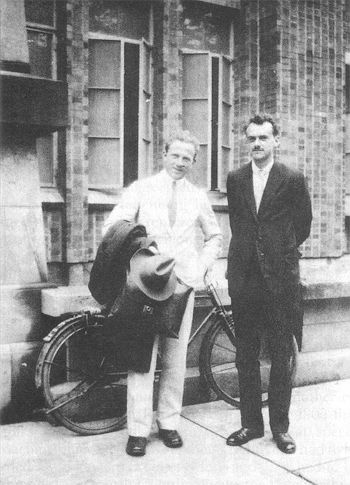 Werner Heisenberg & Paul Dirac