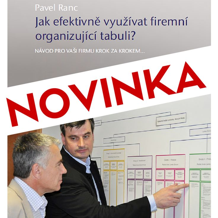 Nutnost firmu organizovat si uvědomuje mnoho majitelů firem a manažerů. Činnost nebo práce, kterou firma musí nutně provádět a která není nikomu přidělena oficiálně jako zodpovědné osobě, vždy skončí na stole šéfa.  http://www.success.cz/management/publikace/jak-efektivne-vyuzivat-firemni-organizujici-tabuli/