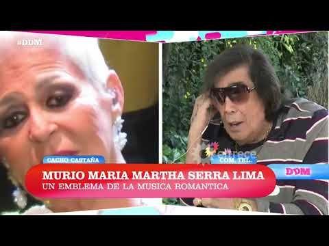 (168) Cacho Castaña dolido por la muerte de María Marta Serra Lima - YouTube