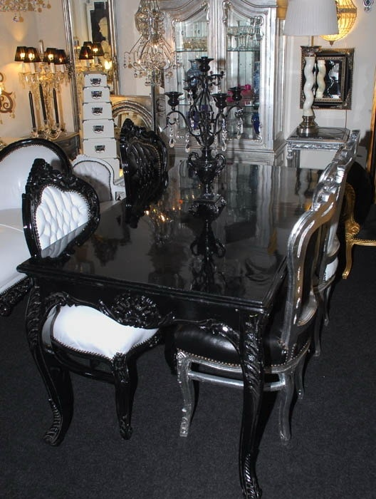 9 best thrones images on pinterest chairs couches and for Baroque dining table set